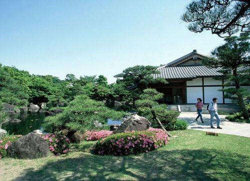 姫路 好古園 御屋敷の庭
