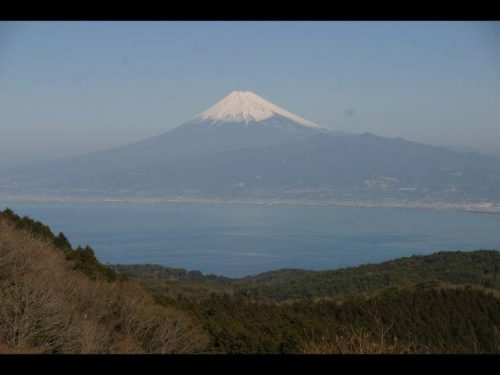 伊豆 達磨山から(冬)