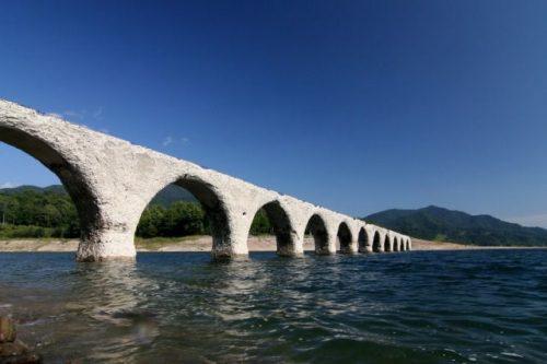 上士幌町 タウシュベツ橋