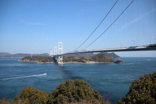 愛媛県東予 しまなみ海道来島海峡第三大橋